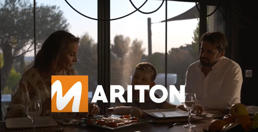Visionnez la publicité MARITON !