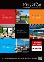 Annonce presse 2015 pergol'Air par Mariton