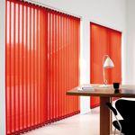 Store bandes verticales lamelles baies vitrées Mariton
